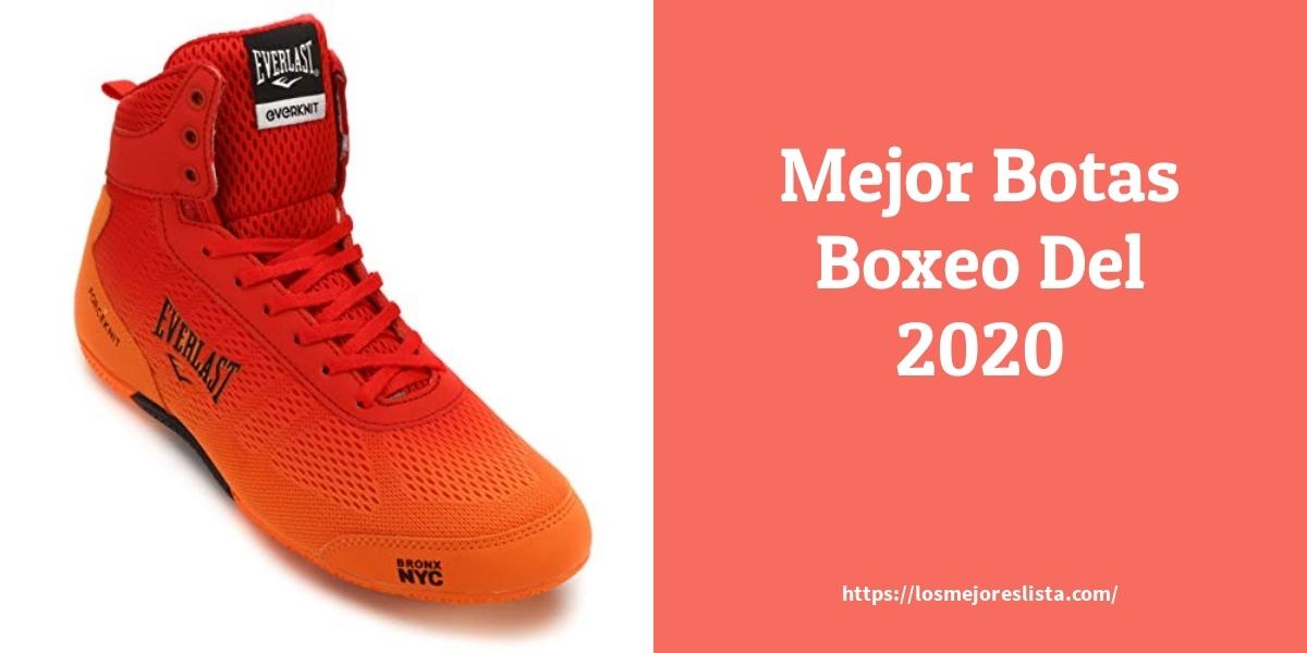 Las mejores 9 botas boxeo de 2021