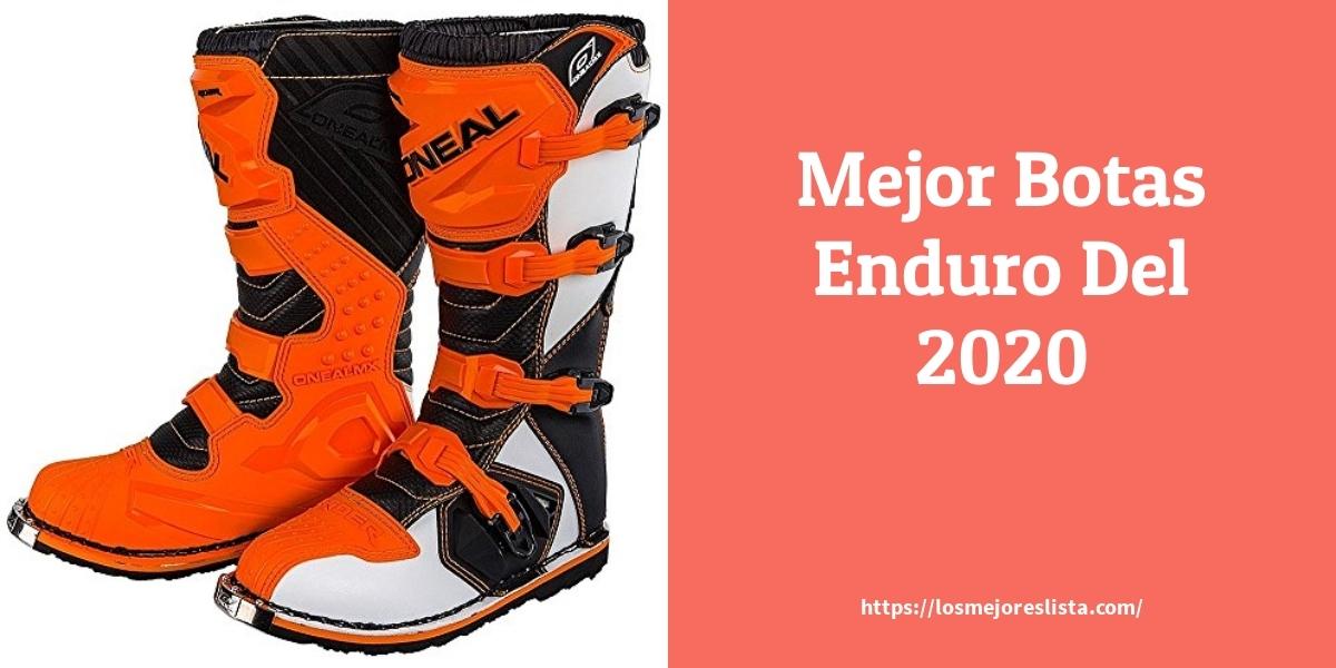 Las mejores 9 botas enduro de 2021