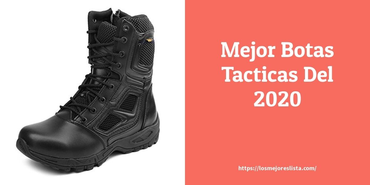 Las mejores 9 botas tacticas de 2021