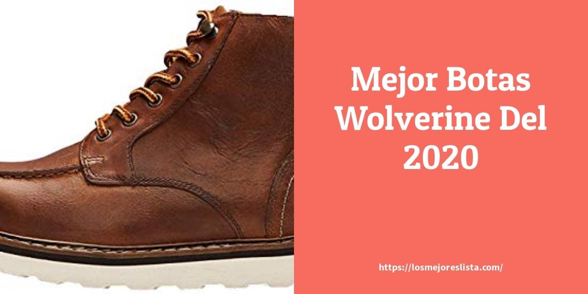 Las 9 mejores botas wolverine en 2021