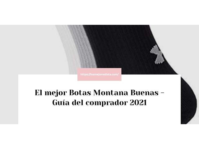 Las mejores 10 botas montana buenas de 2021