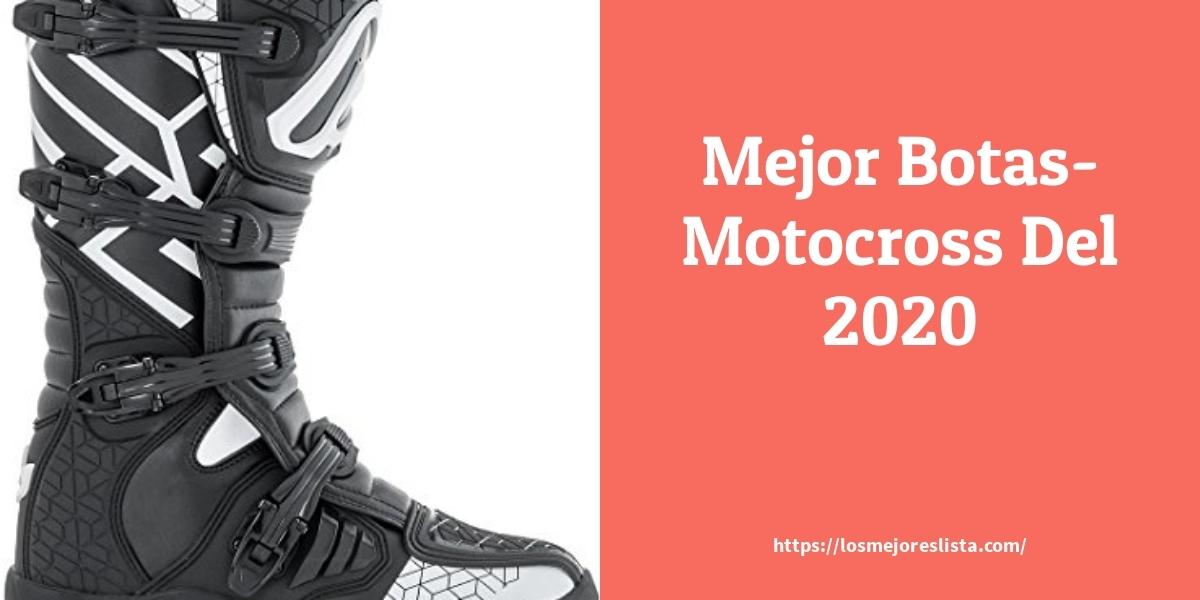 Las 10 mejores Botas Motocross   en 2021