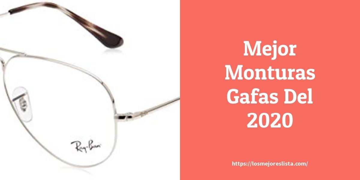 Las 10 Mejores Monturas Gafas En 2020 Losmejoreslista Com