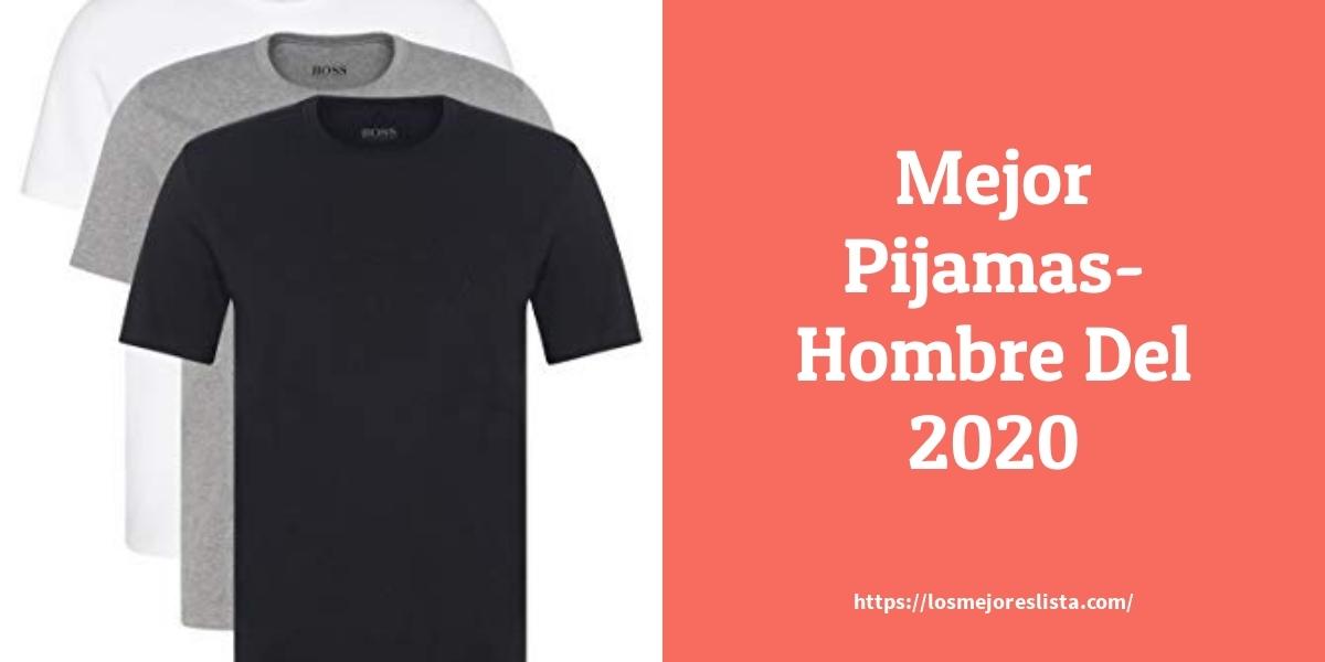 Las 10 Mejores Pijamas Hombre En 2020 Losmejoreslista Com