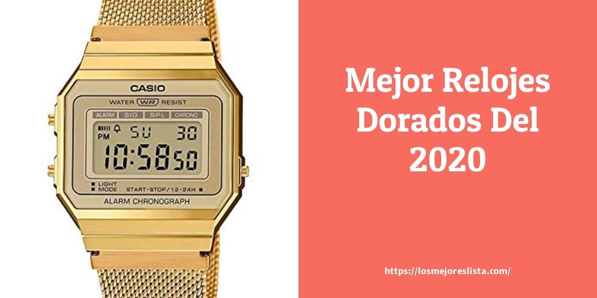 Las 10 mejores Relojes Dorados  en 2021