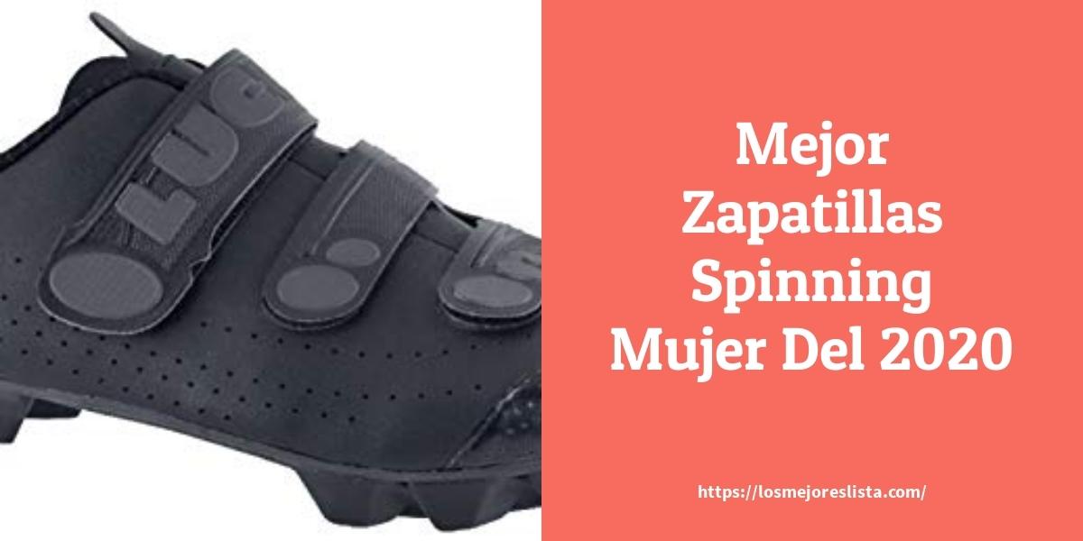 Las 10 mejores Zapatillas Spinning Mujer   en 2021