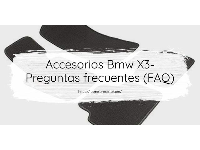 Los mejores 10 Accesorios Bmw X3 – Guía de compra, Opiniones y Análisis en 2021