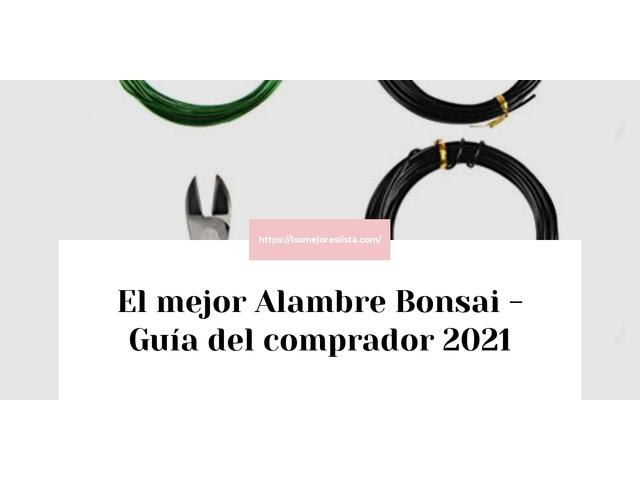Los mejores 10 Alambre Bonsai – Guía de compra, Opiniones y Análisis en 2021