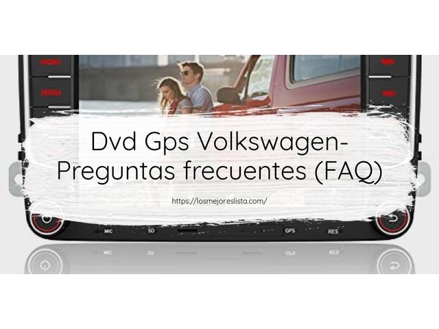 Las mejores 10 dvd gps volkswagen de 2021