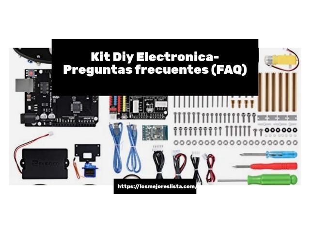 Los mejores 10 Kit Diy Electrónica – Guía de compra, Opiniones y Análisis en 2021