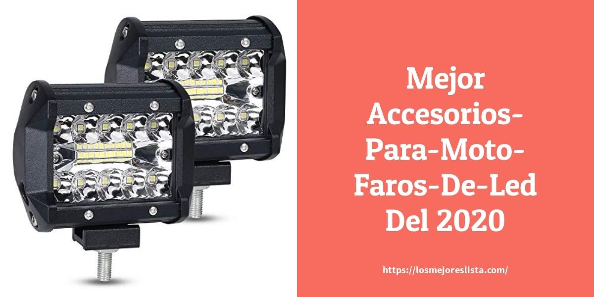 Los mejores 10 Accesorios Para Moto Faros De Led – Guía de compra, Opiniones y Análisis en 2021