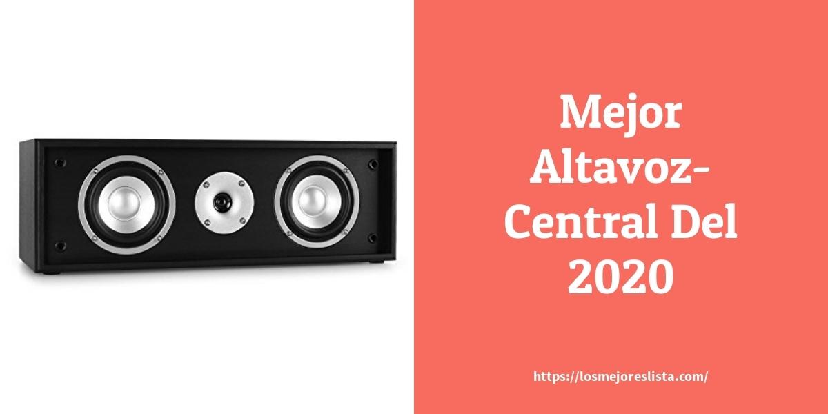 Los mejores 10 Altavoz Central – Guía de compra, Opiniones y Análisis en 2021