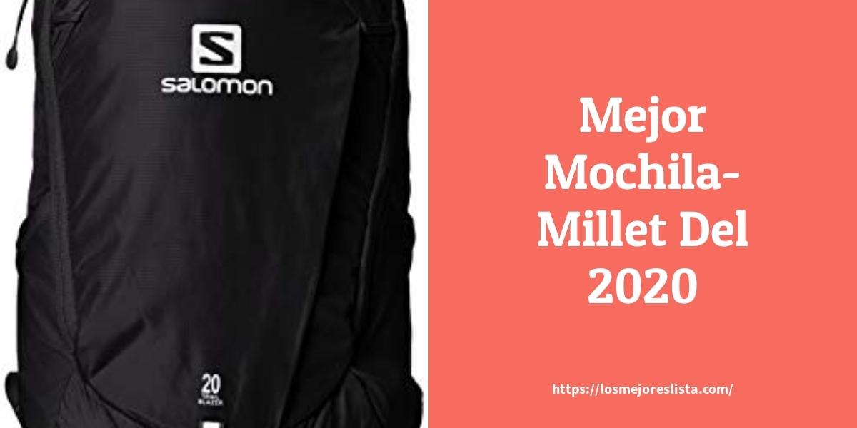 Los mejores 10 Mochila Millet – Guía de compra, Opiniones y Análisis en 2021