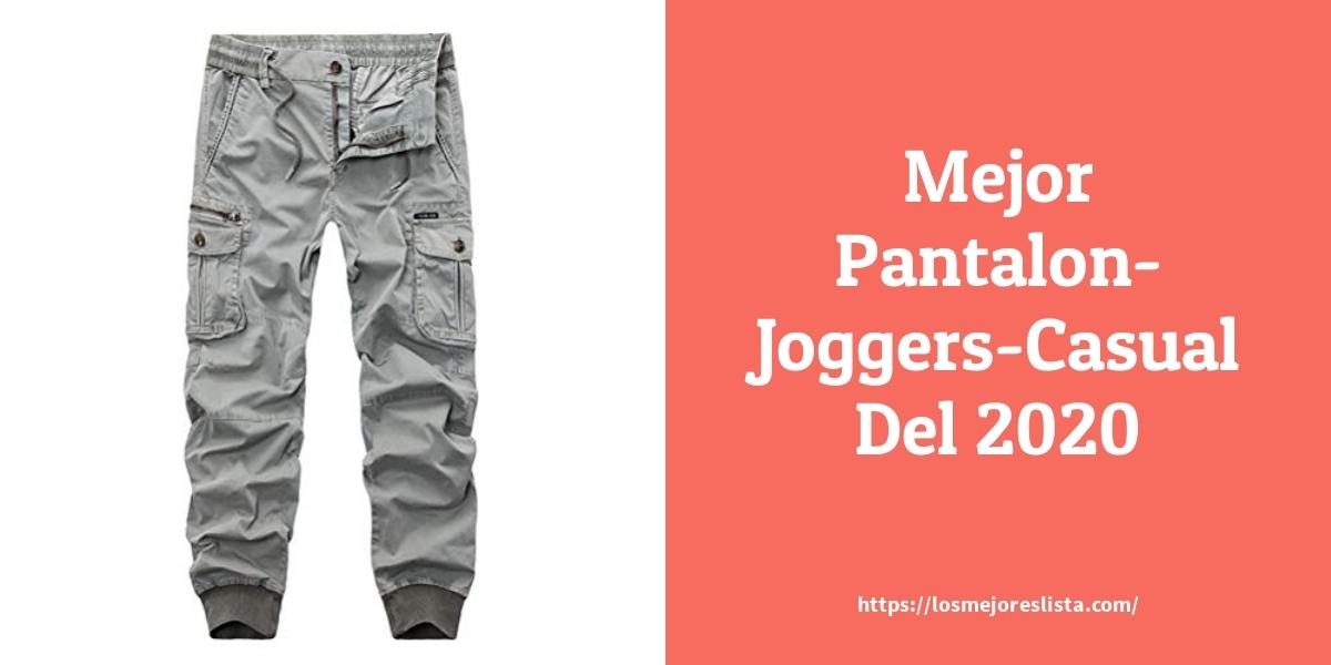 Los Mejores 7 Pantalon Joggers Casual Guia De Compra Opiniones Y Analisis En 2020 Losmejoreslista Com