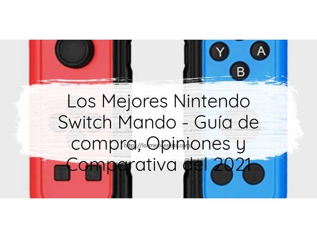 Los mejores 10 Nintendo Switch Mando – Guía de compra, Opiniones y Análisis en 2021