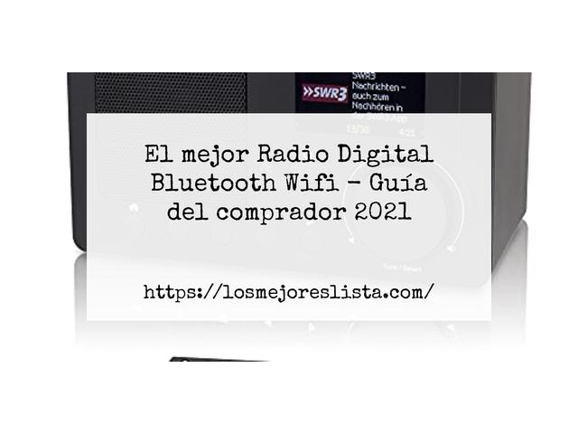 Las mejores 10 radio digital bluetooth wifi de 2021