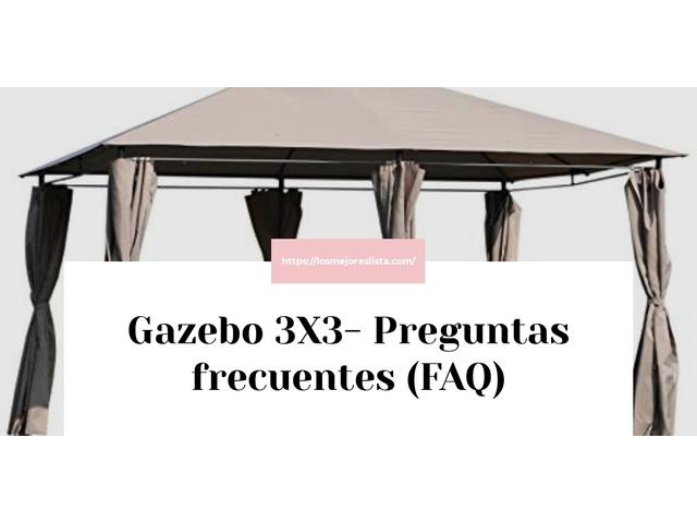 Los mejores 10 Gazebo 3X3 – Guía de compra, Opiniones y Análisis en 2021
