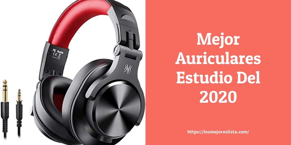 Los mejores 10 Auriculares Estudio – Guía de compra, Opiniones y Análisis en 2021