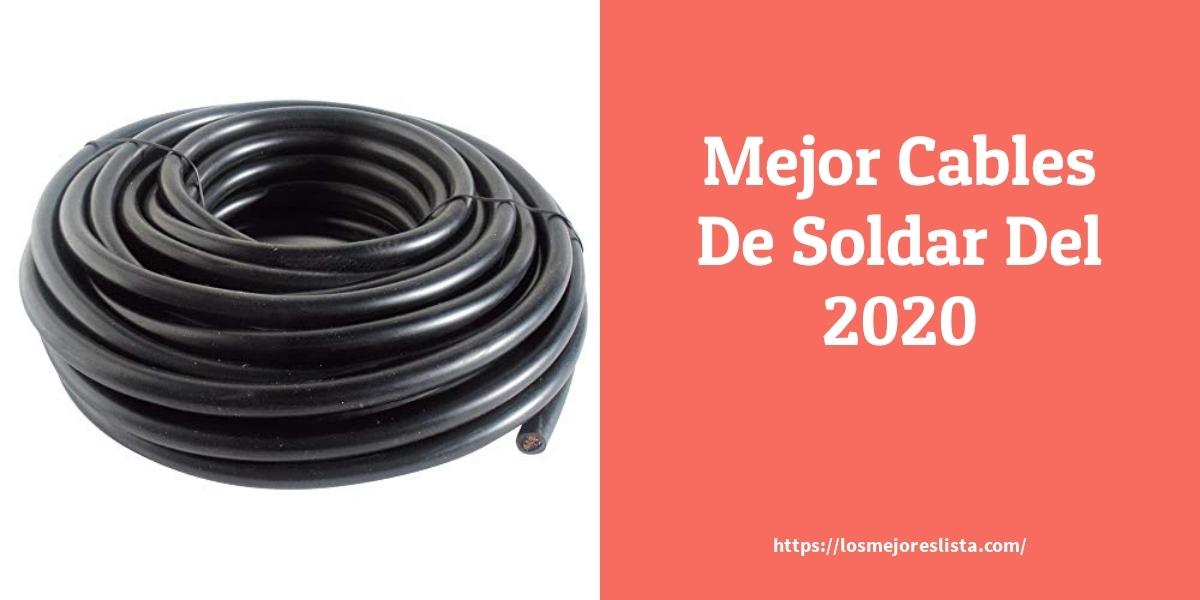Los mejores 10 Cables De Soldar – Guía de compra, Opiniones y Análisis en 2021