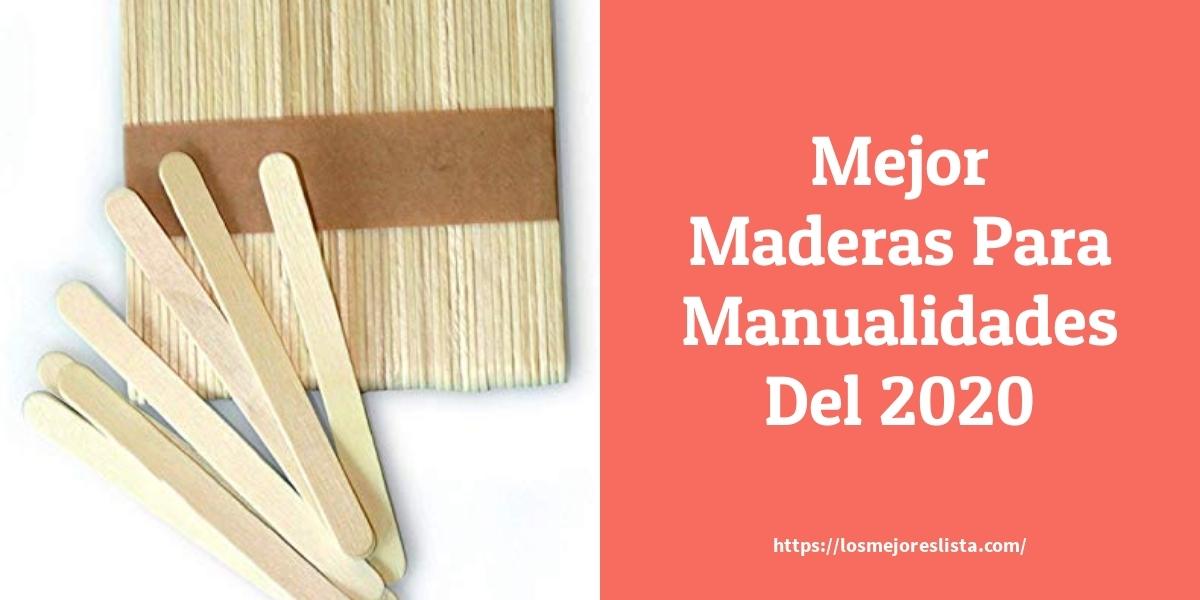 Los mejores 10 Maderas Para Manualidades – Guía de compra, Opiniones y Análisis en 2021