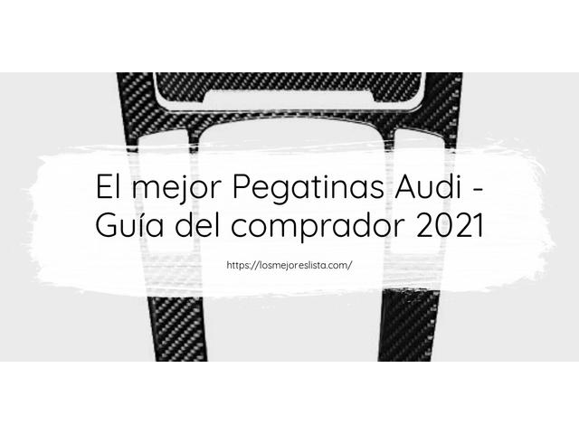 Los mejores 10 Pegatinas Audi – Guía de compra, Opiniones y Análisis en 2021
