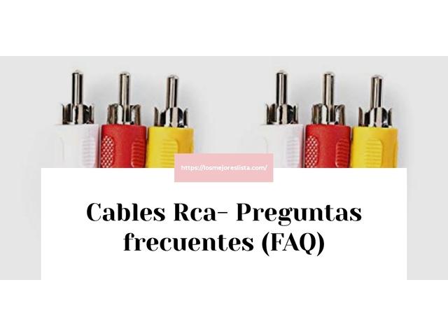 Los mejores 10 Cables Rca – Guía de compra, Opiniones y Análisis en 2021