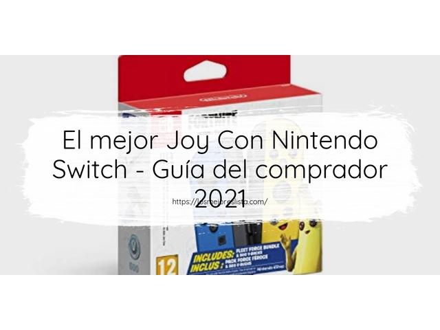 Los mejores 10 Joy Con Nintendo Switch – Guía de compra, Opiniones y Análisis en 2021
