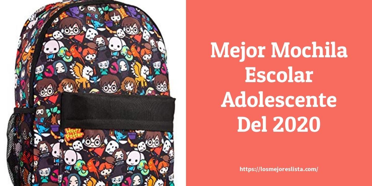 Los mejores 10 Mochila Escolar Adolescente – Guía de compra, Opiniones y Análisis en 2021