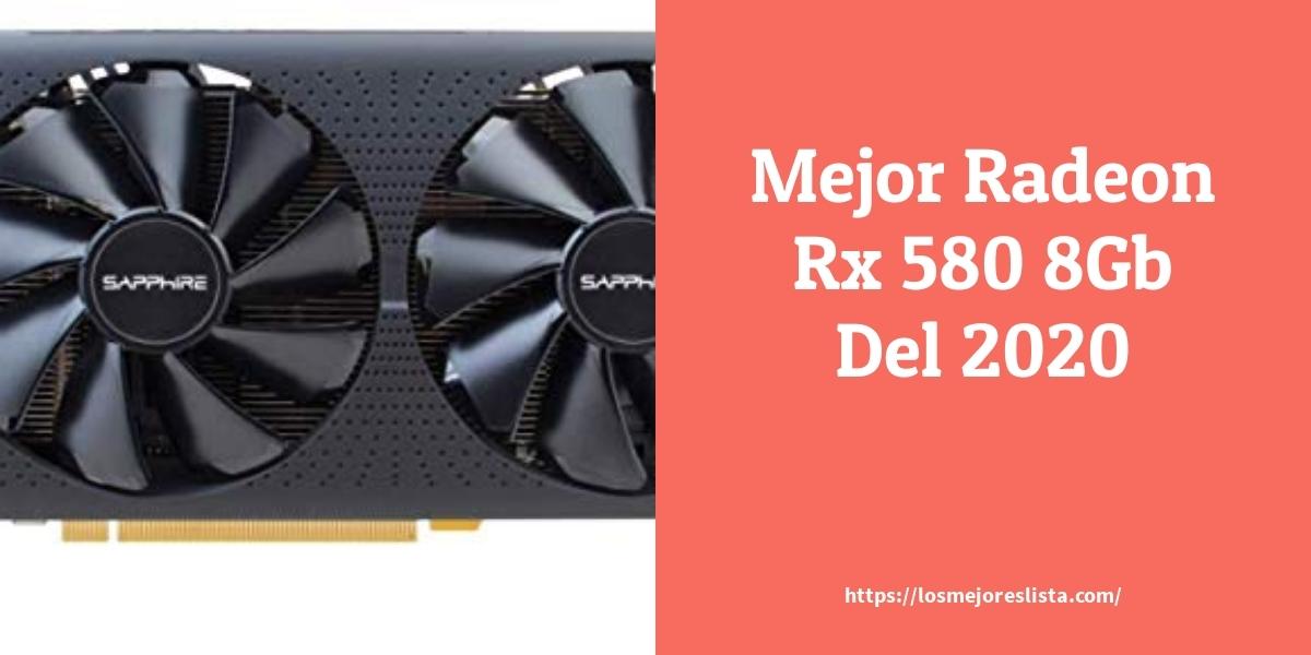Los mejores 10 Radeon Rx 580 8Gb – Guía de compra, Opiniones y Análisis en 2021