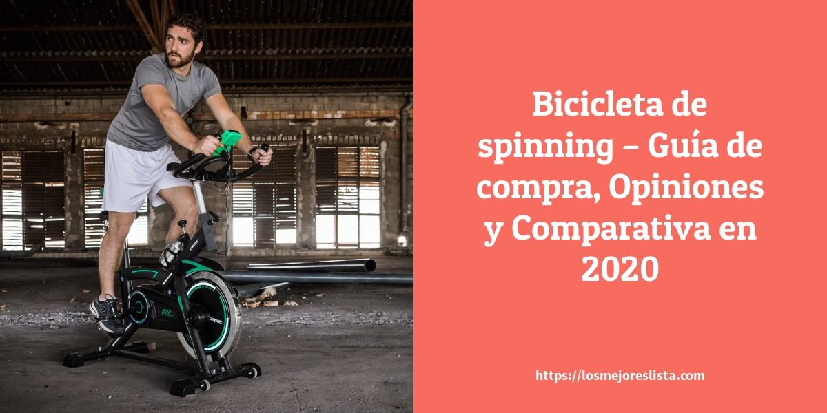 Bicicleta de spinning Guía de compra Opiniones y Comparativa en 2021