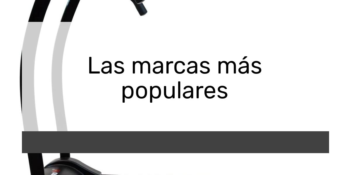 Las marcas más populares