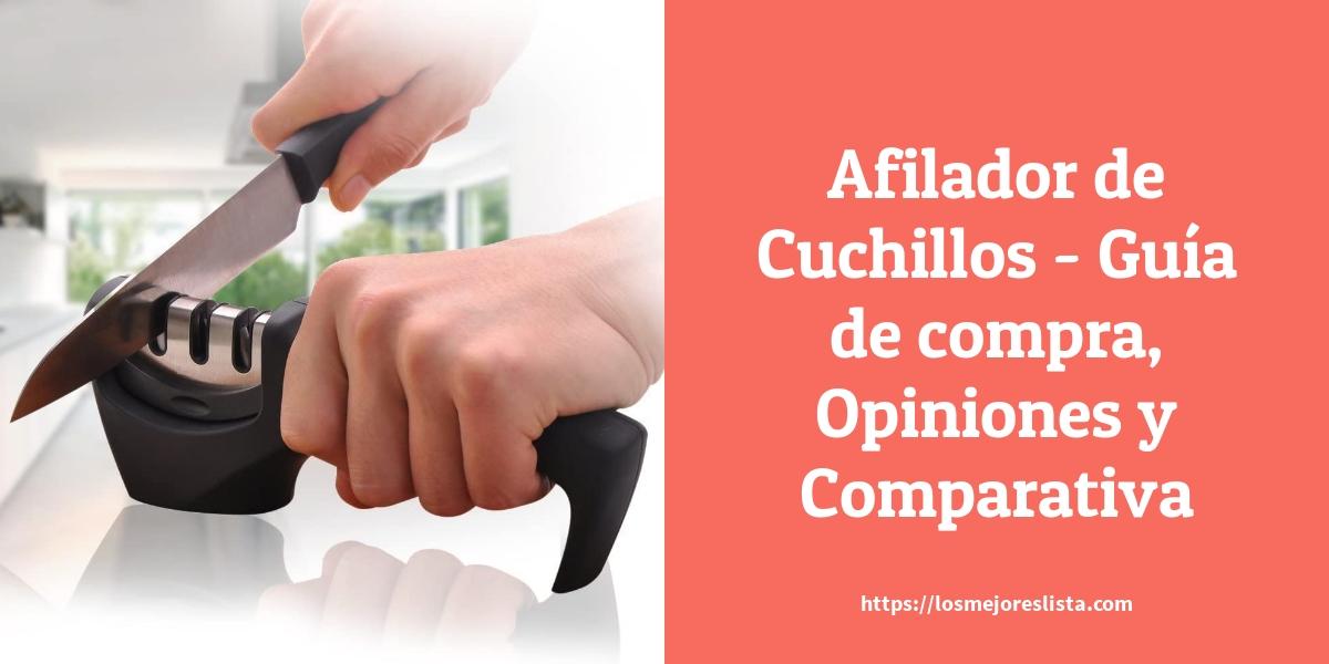 Afilador de Cuchillos Guía de compra Opiniones y Comparativa