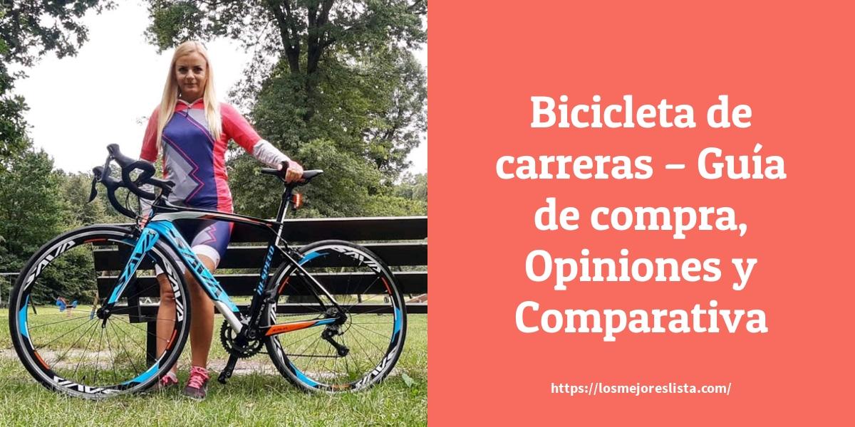 Bicicleta de carreras Guía de compra Opiniones y Comparativa