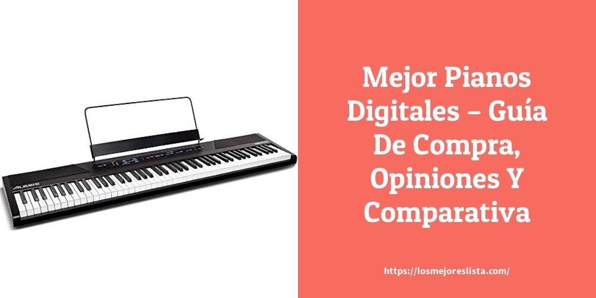 Mejor Pianos Digitales – Guía De Compra, Opiniones Y Comparativa
