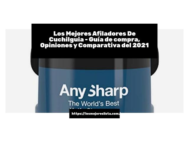 Mejor Afiladores De Cuchillos – Guía De Compra, Opiniones Y Comparativa
