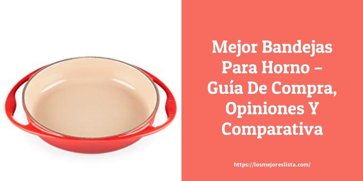 Mejor Bandejas Para Horno – Guía De Compra, Opiniones Y Comparativa