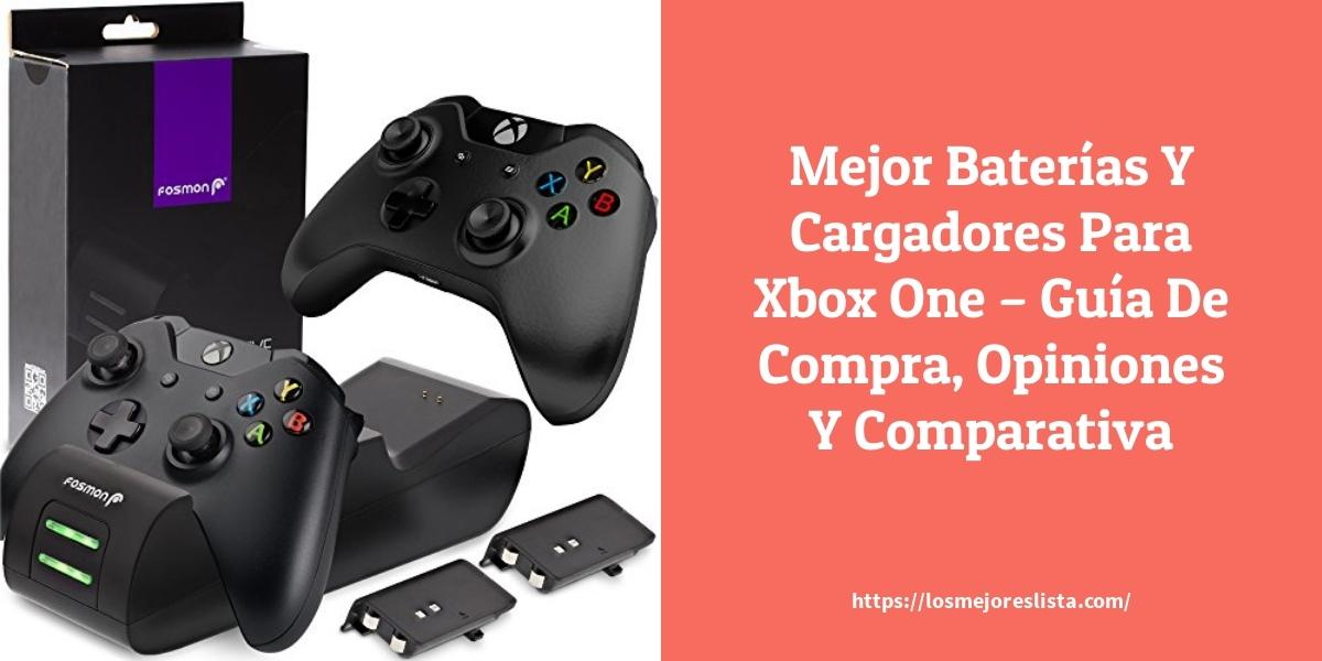 Mejor Baterías Y Cargadores Para Xbox One – Guía De Compra, Opiniones Y Comparativa