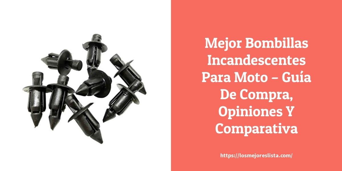 Mejor Bombillas Incandescentes Para Moto – Guía De Compra, Opiniones Y Comparativa