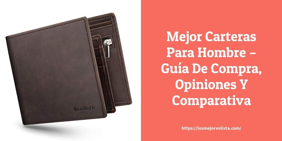 Mejor Carteras Para Hombre – Guía De Compra, Opiniones Y Comparativa