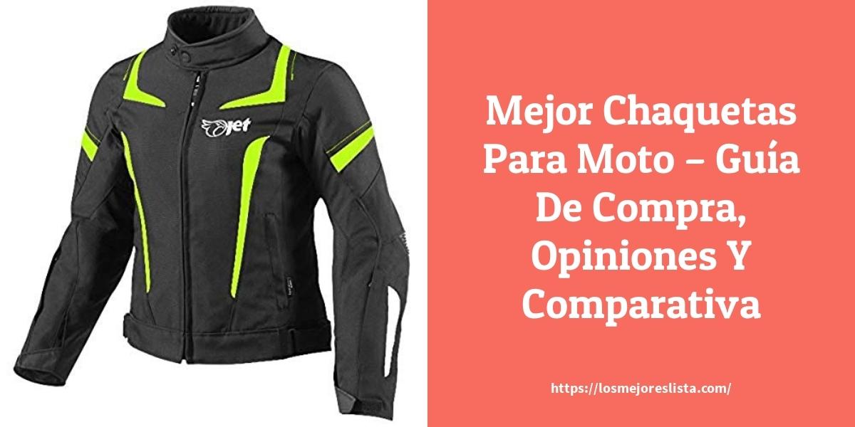 Mejor Chaquetas Para Moto – Guía De Compra, Opiniones Y Comparativa