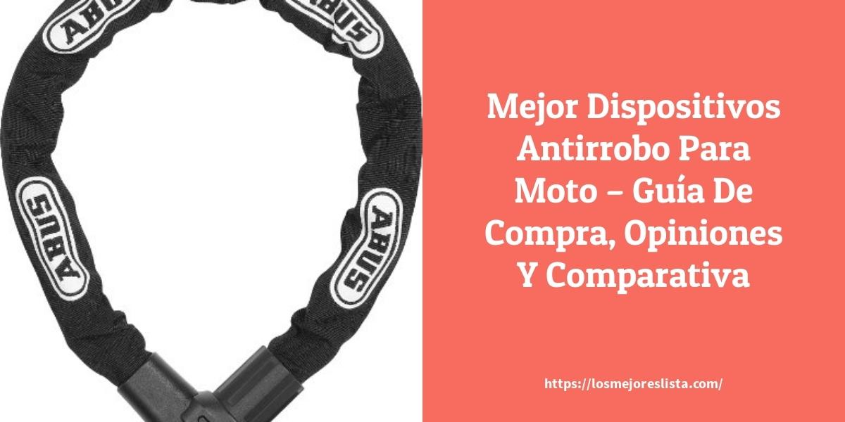 Mejor Dispositivos Antirrobo Para Moto – Guía De Compra, Opiniones Y Comparativa
