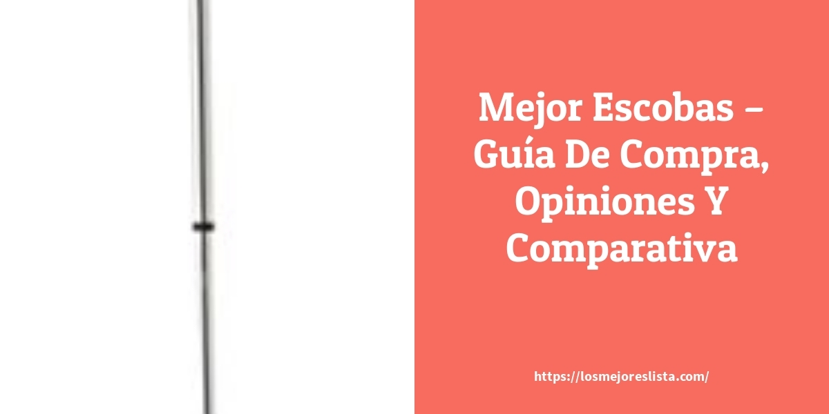 Mejor Escobas – Guía De Compra, Opiniones Y Comparativa