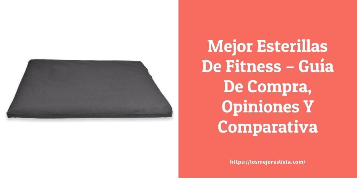 Mejor Esterillas De Fitness – Guía De Compra, Opiniones Y Comparativa