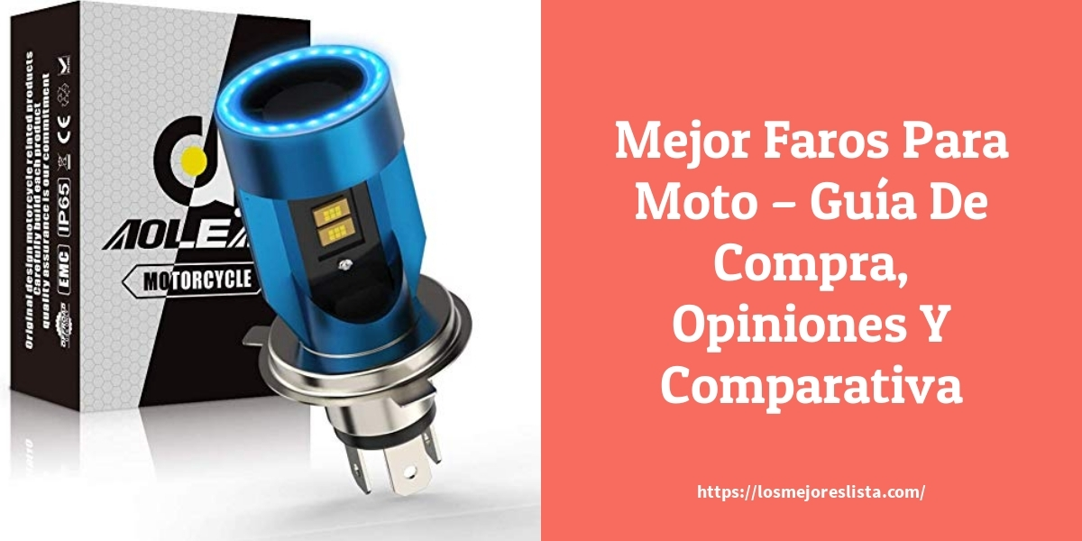 Mejor Faros Para Moto – Guía De Compra, Opiniones Y Comparativa
