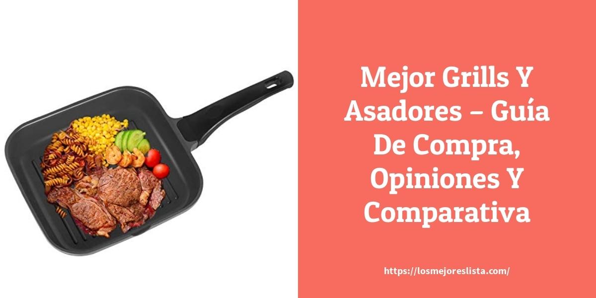 Mejor Grills Y Asadores – Guía De Compra, Opiniones Y Comparativa