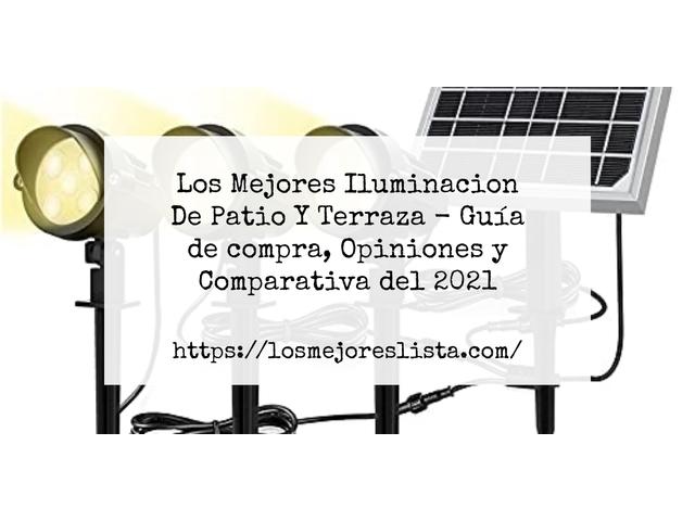 Mejor Iluminación De Patio Y Terraza – Guía De Compra, Opiniones Y Comparativa