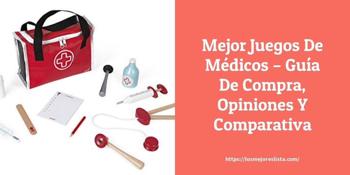 Mejor Juegos De Médicos – Guía De Compra, Opiniones Y Comparativa