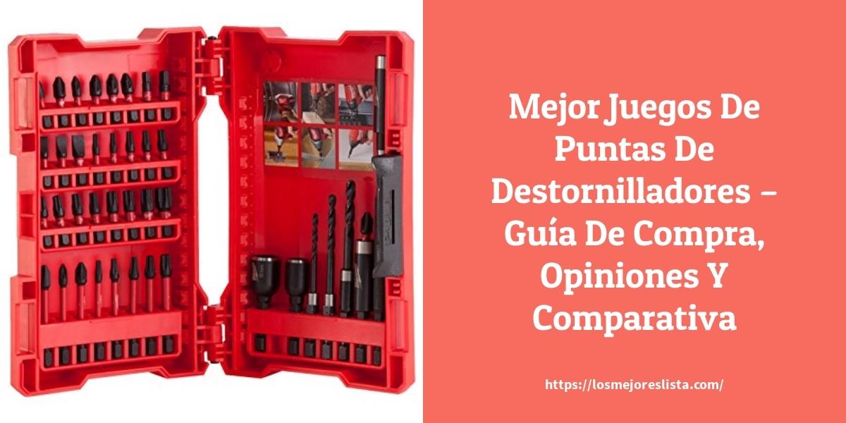 Mejor Juegos De Puntas De Destornilladores – Guía De Compra, Opiniones Y Comparativa