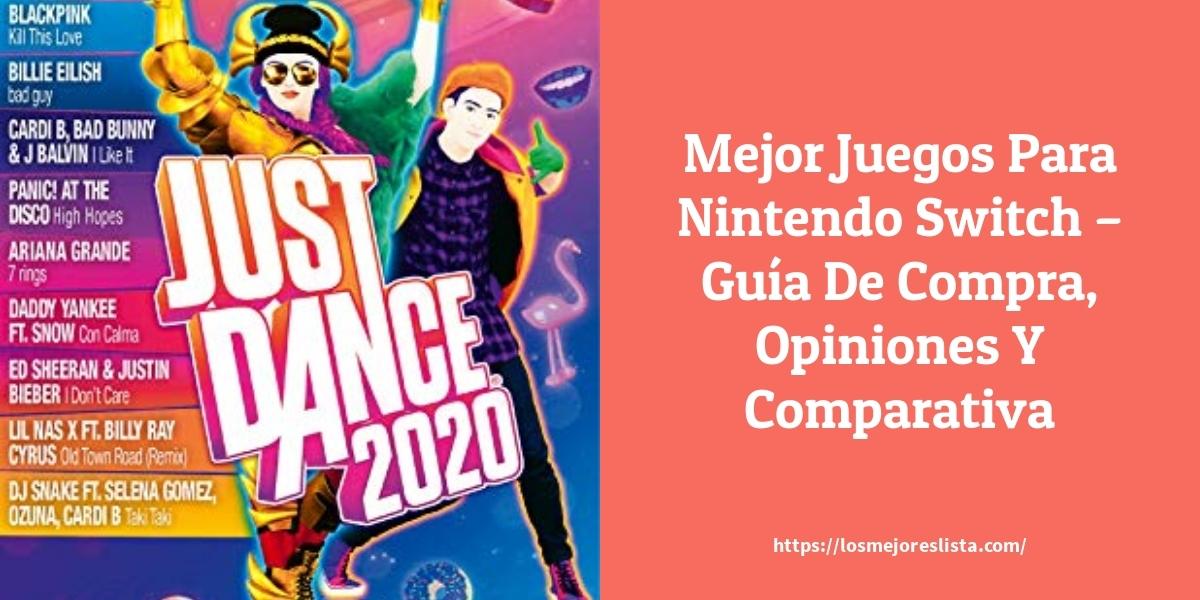 Mejor Juegos Para Nintendo Switch – Guía De Compra, Opiniones Y Comparativa