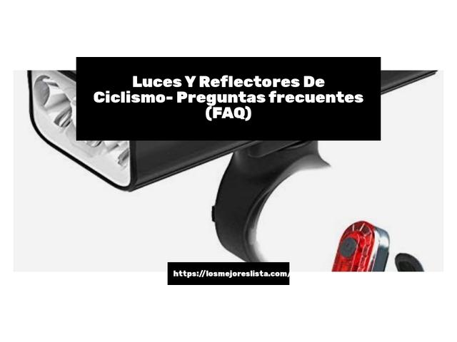 Mejor Luces Y Reflectores De Ciclismo – Guía De Compra, Opiniones Y Comparativa